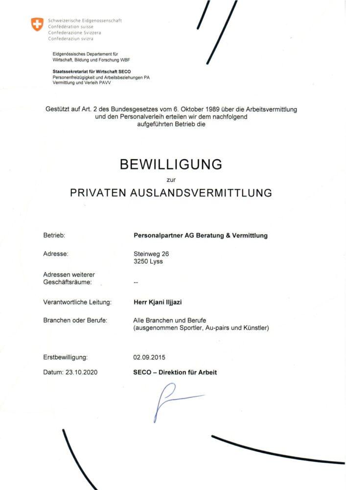 privatenauslandsvermittlung